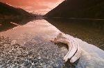 bild Bildagentur Bilder Vom Sonnenuntergang Bergsee