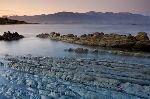 bild Kaikoura Mountain Range Sonnenuntergang Neuseeland