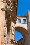 bild Wohntuerme Buonaguidi Buonparenti Bruecke Volterra Italien