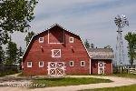 bild Farm Scheune Mennonite Heritage Village Manitoba