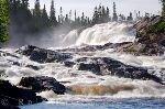 bild White Bear River Wasserfall Labrador Kanada