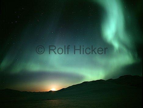 Bild Aurora Borealis Beobachtung