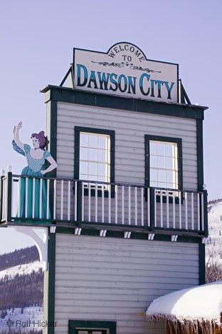 Bild Willkommen Dawson Yukon