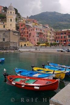Bild Boote Vernazza Ligurien Italien