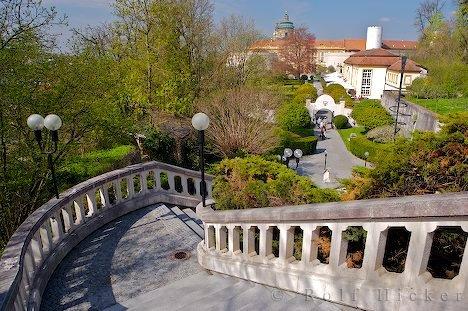 Bild Wege Treppe Kloster Melk