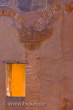 Bild Torre Del Capitan Turm Fenster Sonnenlicht Alhambra Granada