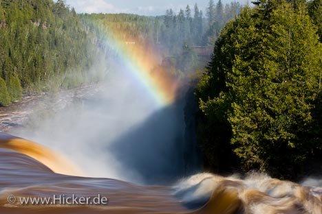 Bild Regenbogen Kakabeka Falls Thunder Bay Ontario